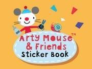 Art Mouse Sticker Kitabı