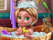 Banyoda Bebek Bakımı