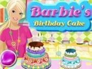 Barbie Doğum Günü Pastası