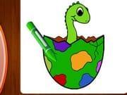 Dinozor Boyama
