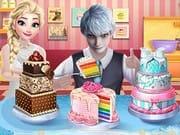 Elsa Düğün Pastası Yapma