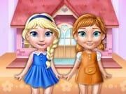 Elsa ve Anna Oyuncak Ev Dekoru