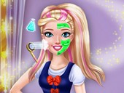 Kolej Prensesi Spa Makyajı