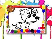 Köpek Boyama Kitabı