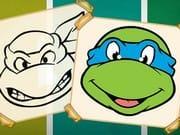 Ninja Kaplumbağalar Boyama