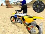 Plajda Motor Yarışı