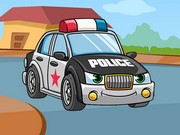 Polis Arabası Puzzle