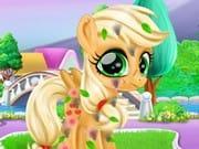 Pony Giysi Giydir