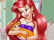 Prenses Ariel Bebek Dekoru