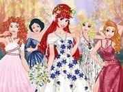 Prensesler Düğün Davetinde