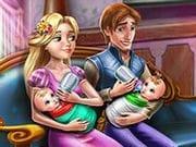 Rapunzel ve İkiz Bebekleri