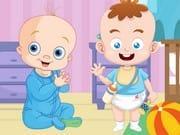Sevimli Bebekler Yapboz